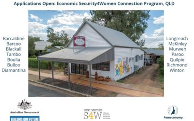 Applications Open:  Economic Security4Women Connection Program, QLD